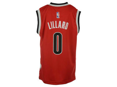 Portland Trail Blazers Damian Lillard Youth NBA Revolution 30 Jersey