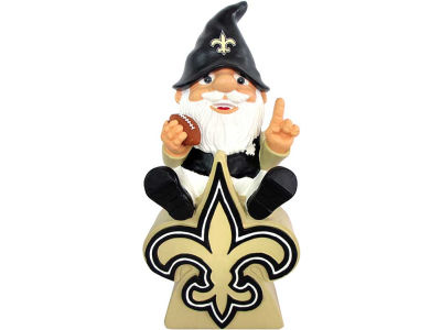 New Orleans Saints Gnome Sitting on Logo