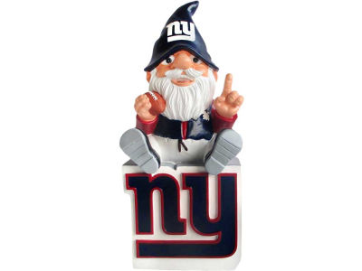New York Giants Gnome Sitting on Logo