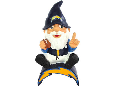San Diego Chargers Gnome Sitting on Logo