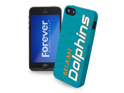 Miami Dolphins iPhone SE Case Silicone Logo
