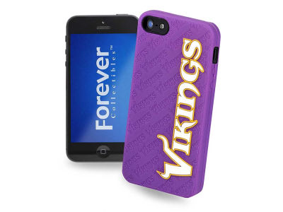 Minnesota Vikings iPhone SE Case Silicone Logo