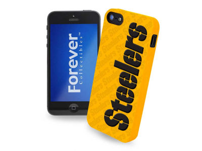Pittsburgh Steelers iPhone SE Case Silicone Logo