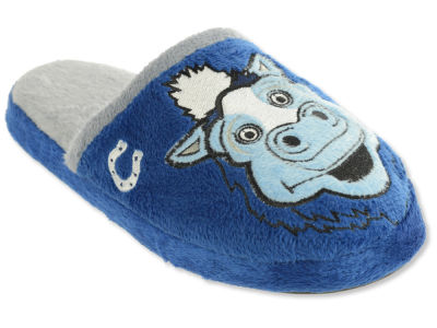 Indianapolis Colts Mascot Slide Youth Slippers