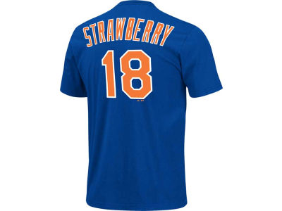 New York Mets Darryl Strawberry Majestic MLB Men's Cooperstown Player T-Shirt