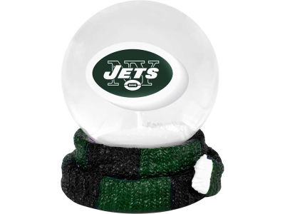 New York Jets Scarf Snow Globe