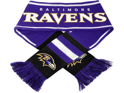Baltimore Ravens 2013 Wordmark Acrylic Knit Scarf