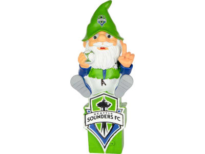Seattle Sounders FC Gnome Sitting on Logo