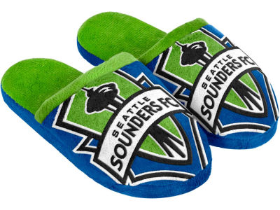 Seattle Sounders FC Mascot Slide Youth Slippers