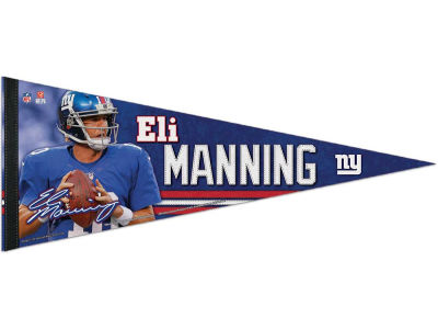 New York Giants Eli Manning 12x30 Premium Player Pennant