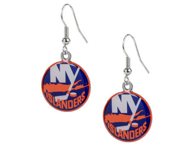 New York Islanders Logo Earrings
