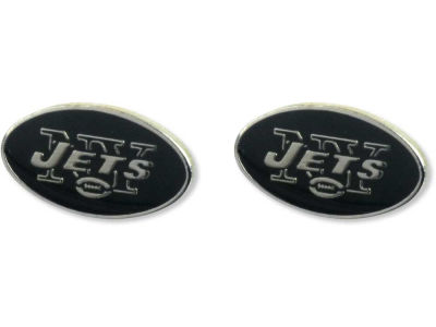 New York Jets Logo Post Earrings