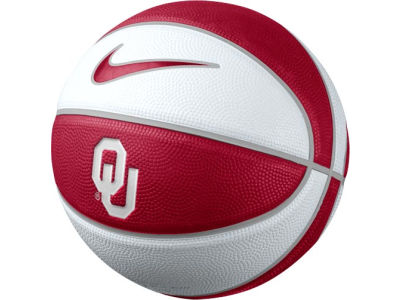 Oklahoma Sooners Nike NCAA Mini Rubber Basketball