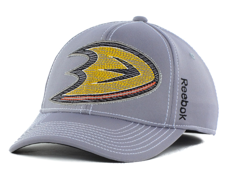 on sale 3021c 1331a ... sweden anaheim ducks reebok nhl kids 2nd season flex cap 624b5 a748a