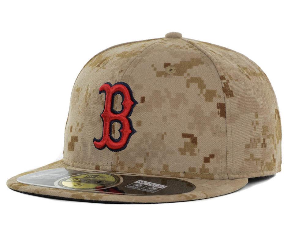 Boston Red Sox New Era MLB 2013 Memorial Day Stars   Stripes 59FIFTY Cap  600b722c11f4