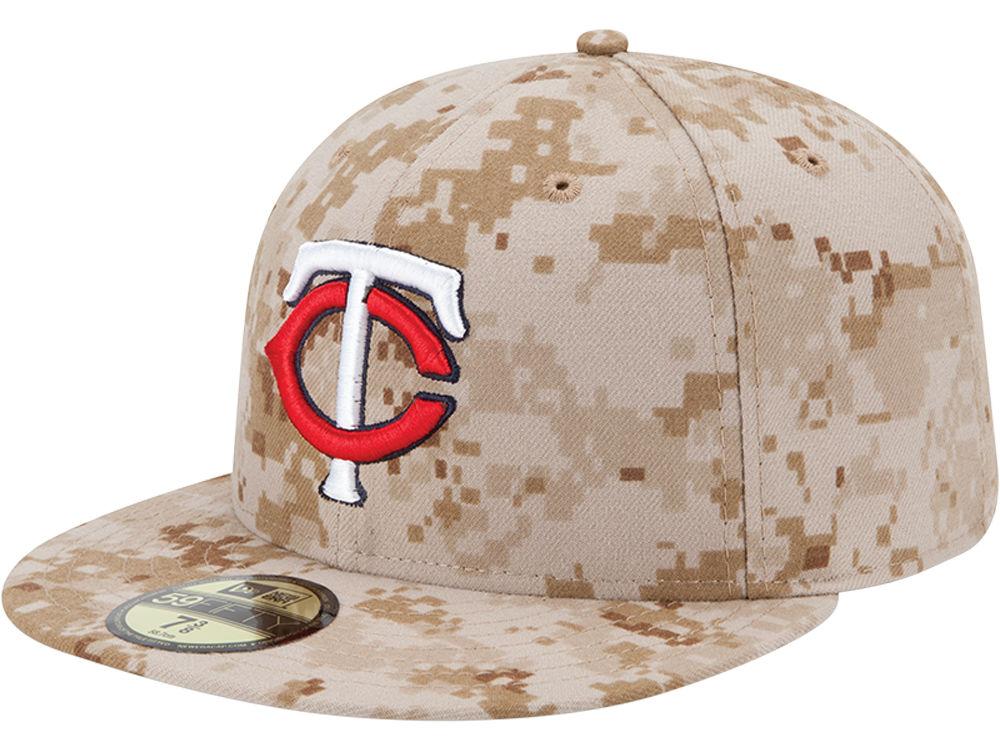 Minnesota Twins New Era MLB 2013 Memorial Day Stars   Stripes 59FIFTY Cap  49c326fc26ee
