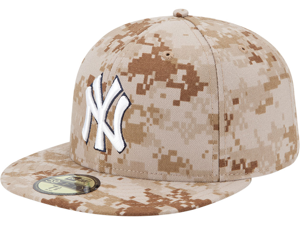 2f4b56e39b8 New York Yankees New Era MLB 2013 Memorial Day Stars   Stripes 59FIFTY Cap
