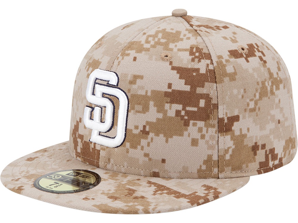 59f9e3189c2 San Diego Padres New Era MLB 2013 Memorial Day Stars   Stripes 59FIFTY Cap
