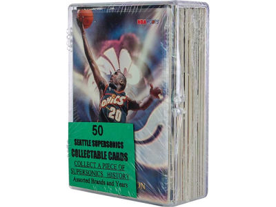 Seattle SuperSonics 50 Card Pack-Assorted
