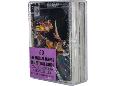 Los Angeles Lakers 50 Card Pack-Assorted