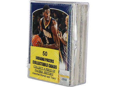 Indiana Pacers 50 Card Pack-Assorted