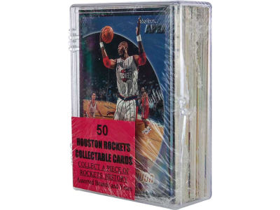 Houston Rockets 50 Card Pack-Assorted