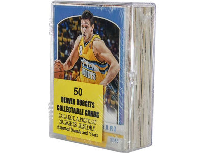 Denver Nuggets 50 Card Pack-Assorted