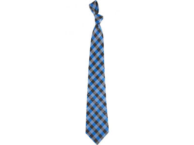 Carolina Panthers Polyester Checked Tie