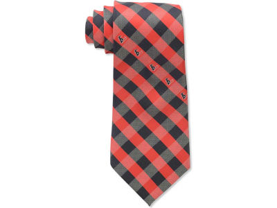 Houston Texans Polyester Checked Tie