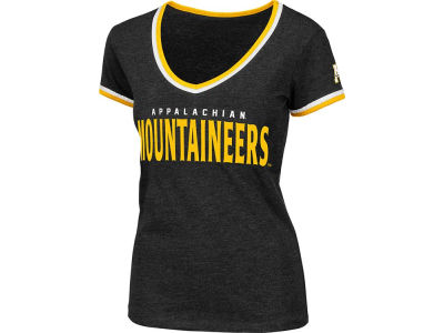 Appalachian State Mountaineers NCAA Womens Blitz Vneck T-Shirt