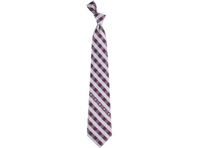 Texas A&M Aggies Polyester Checked Tie