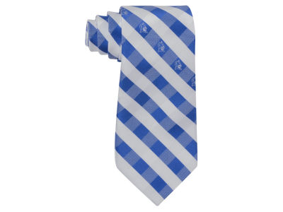 Duke Blue Devils Polyester Checked Tie