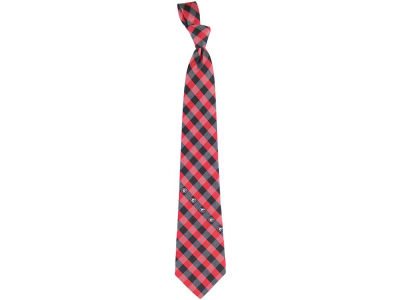 Georgia Bulldogs Polyester Checked Tie