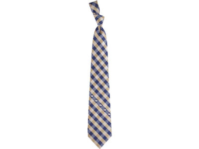 Georgia-Tech Polyester Checked Tie