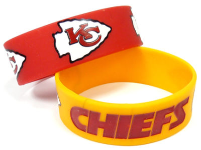 Kansas City Chiefs 2-pack Wide Bracelet