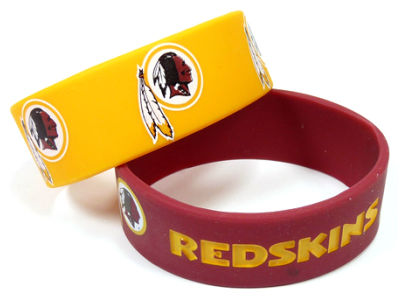 Washington Redskins 2-pack Wide Bracelet