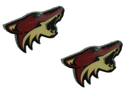 Arizona Coyotes Logo Post Earrings