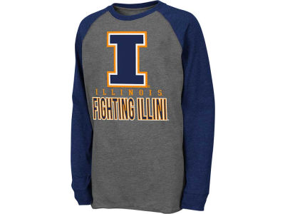 Illinois Fighting Illini NCAA Youth Sweep Long Sleeve T-Shirt