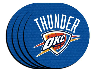 Oklahoma City Thunder 4-pack Neoprene Coaster Set