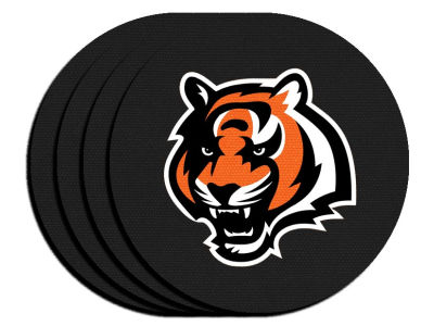 Cincinnati Bengals 4-pack Neoprene Coaster Set