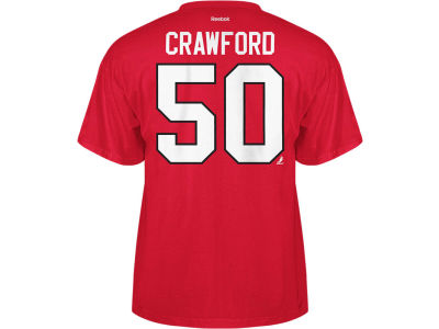 Chicago Blackhawks Corey Crawford Reebok NHL Men's Player T-Shirt
