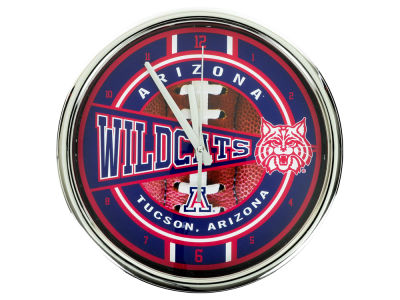 Arizona Wildcats Chrome Clock