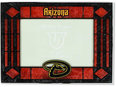 Arizona Diamondbacks Art Glass Picture Frame