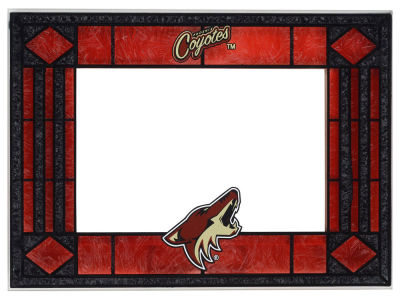 Arizona Coyotes Art Glass Picture Frame