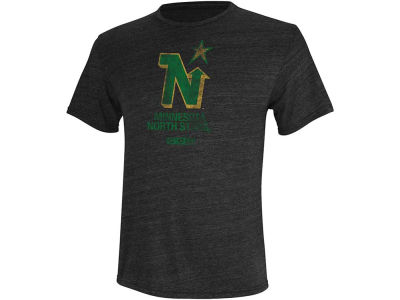 Minnesota North Stars Reebok NHL CCM Retro Logo T-Shirt
