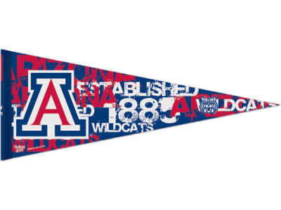 Arizona Wildcats 12x30in Pennant