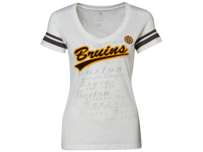 Boston Bruins NHL Womens Over Achiever T-Shirt