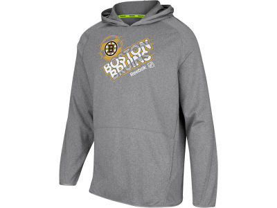 Boston Bruins Reebok NHL Center Fusion Hoodie