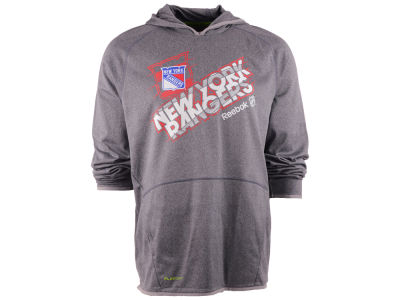 New York Rangers Reebok NHL Center Fusion Hoodie
