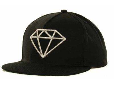 Diamond Rock Logo Snapback Cap